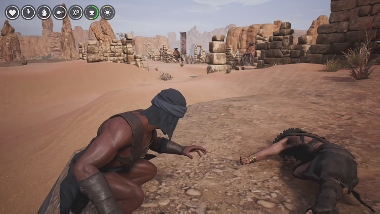 One Wyld Fox playing Conan Exiles