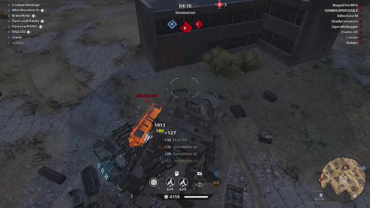 Enclave Revenge playing Crossout