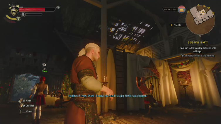 Afterman XXVIII playing The Witcher 3: Wild Hunt - Game of the Year Edition