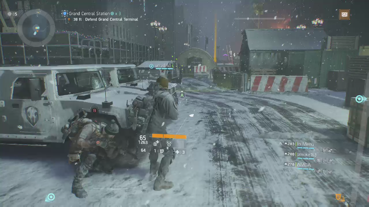 XBazookaToothX playing Tom Clancy's The Division